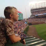 Andrew looking over Wrigley Field