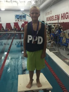 8th Place 100 Back Illinois Regionals July 2015